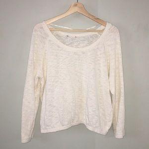 Sweaters - Cream sweater!
